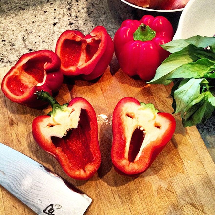 25 frutas y verduras de formas raras que parecen otra cosa