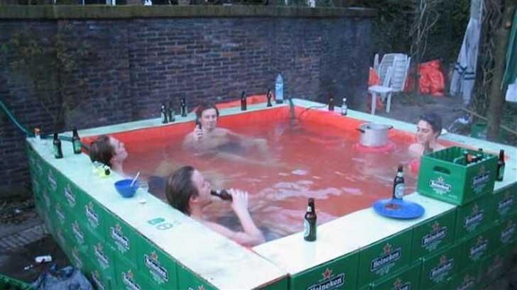 20 ingeniosas personas que crearon originales piscinas