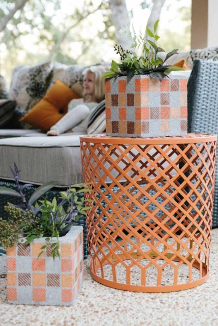 Creativas ideas para adornar tu casa con bloques de cemento