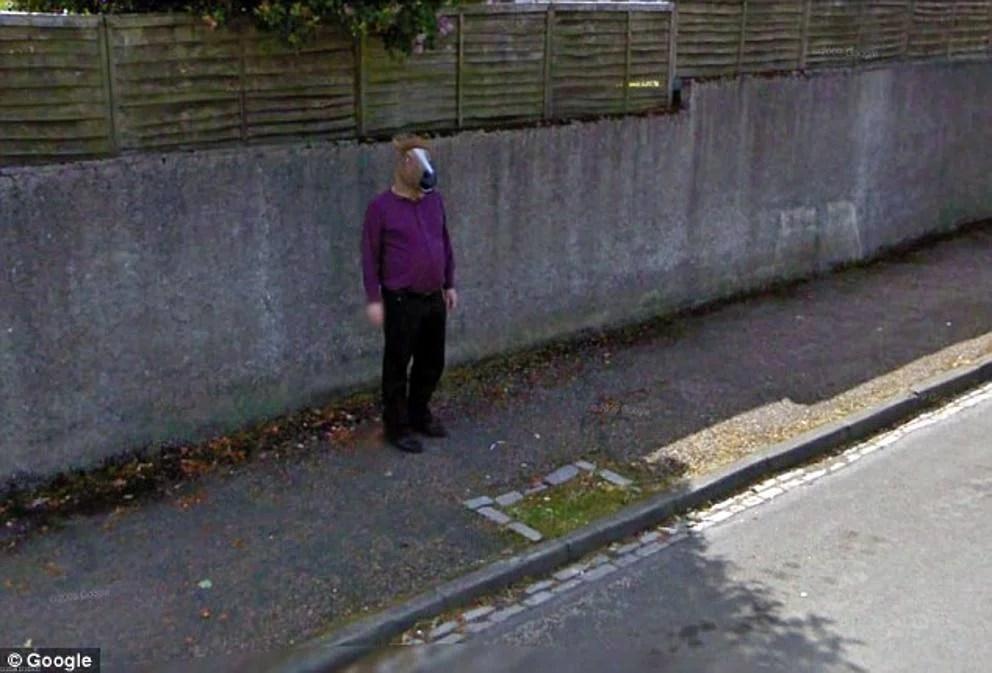 25 de las imgenes ms extraas de Google Street View