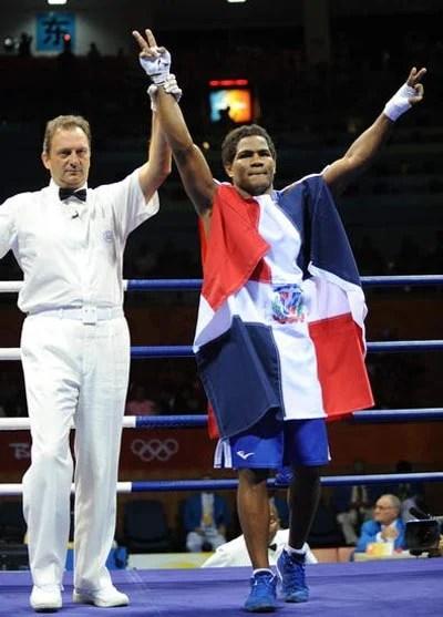 Félix Manuel Díaz Guzmán campeón boxeador de la República Dominicana