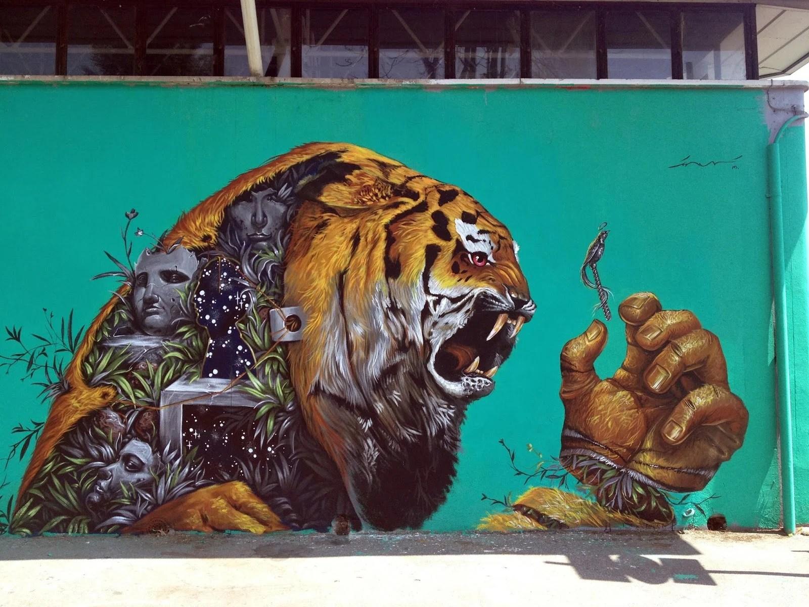25 de las mejores obras del arte urbano 2015 en el mundo