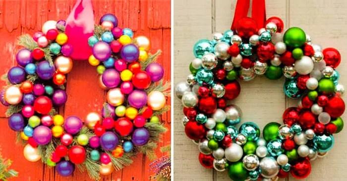 20 Adornos navideos de bajo presupuesto que te encantarn