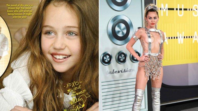 As han cambiado estas bellezas del pop desde sus inicios