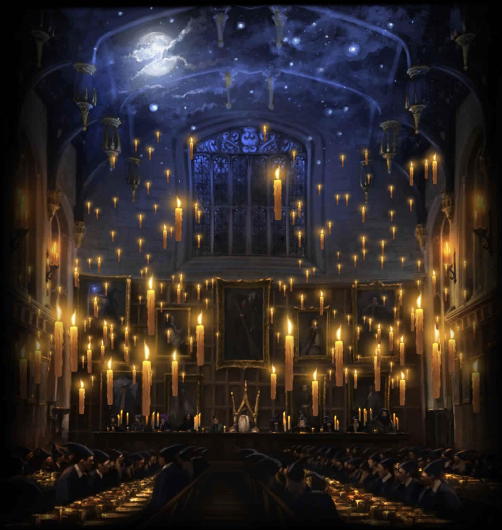 Este ao podrs pasar San Valentn en el comedor de Hogwarts