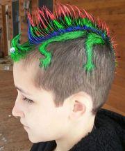 peinados extravagantes para el
