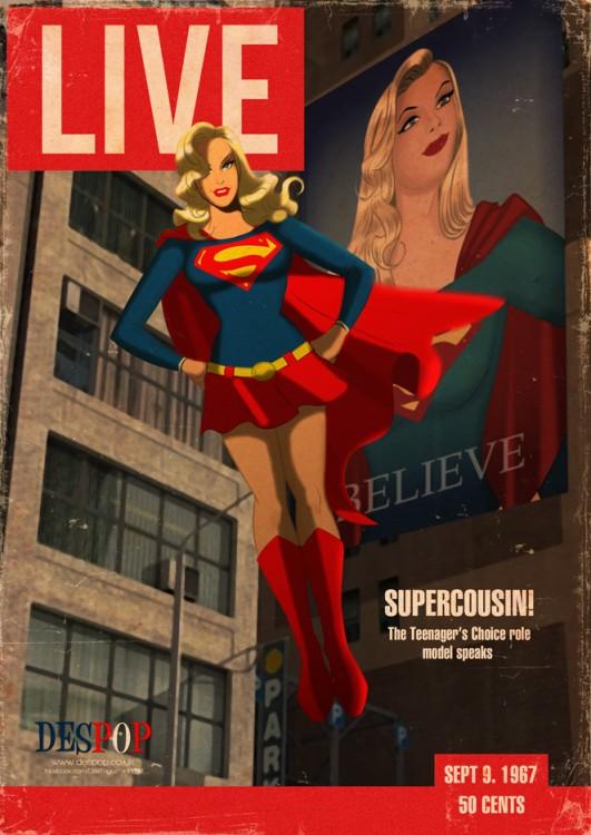 Portadas de revista con personajes de ciencia ficcin
