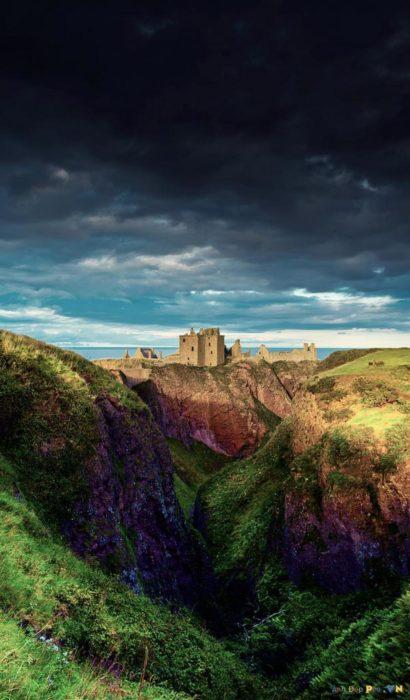 Castillo Dunnottar en el Reino Unido