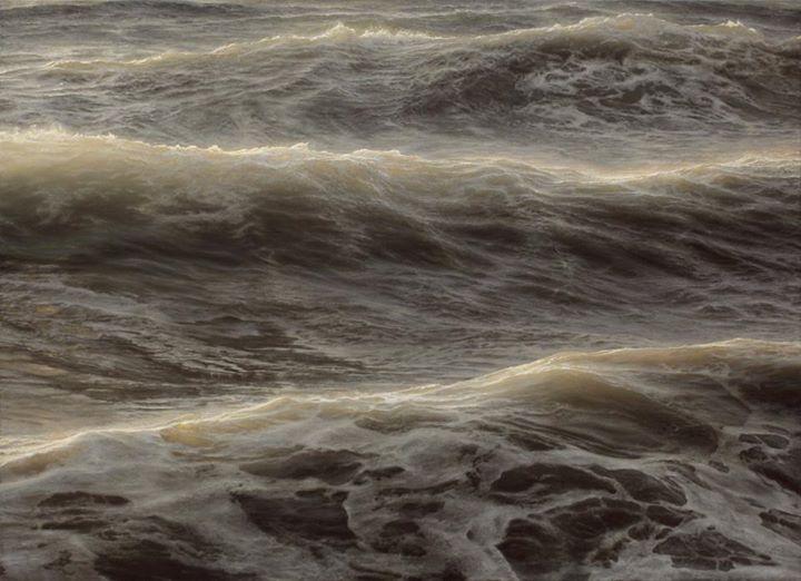 pintura del mar