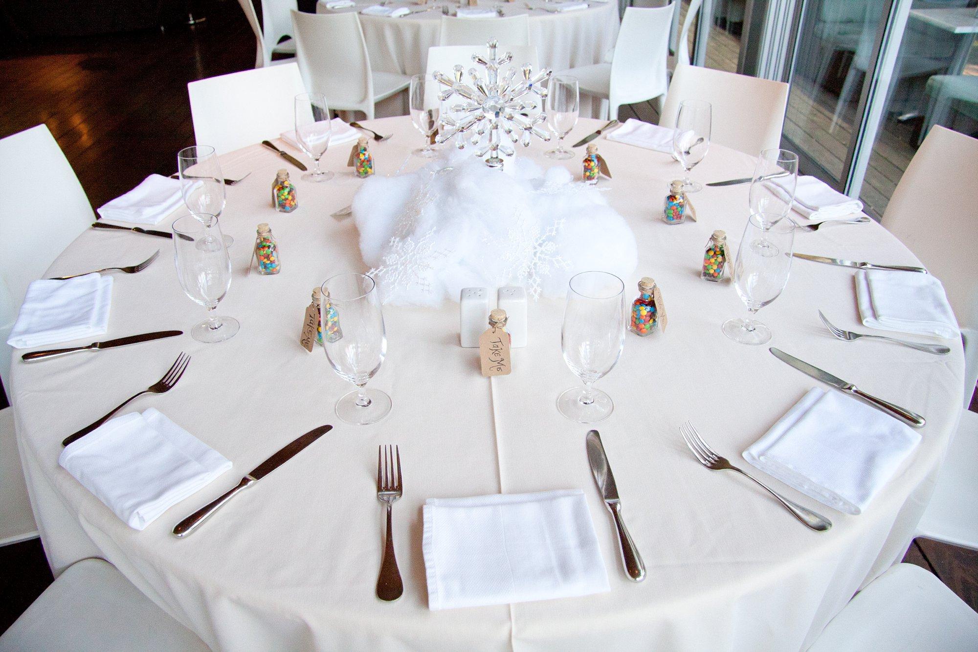 Centros de mesa para boda inspirados en pelculas Disney