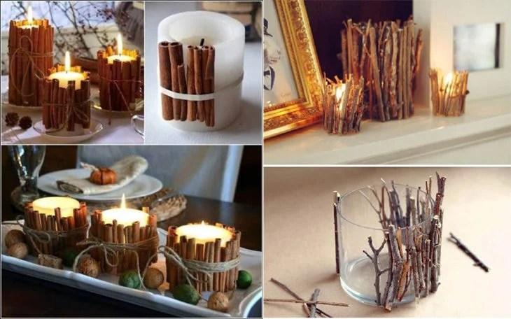 15 manualidades sencillas para decorar tu casa esta Navidad