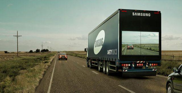 Trailer Samsung pantalla
