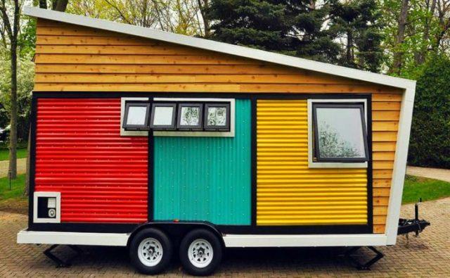 colorida casa rodante