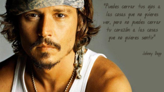 Frases Johnny Depp, corazón