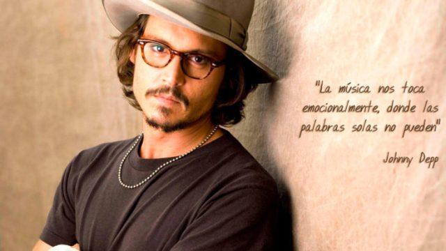 Frase Johnny Depp, música