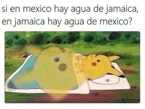 Memes fáciles jamaica agua