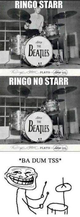 Memes fáciles ringo star beatles
