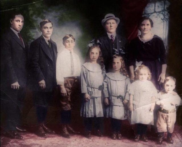 foto vieja coloreada
