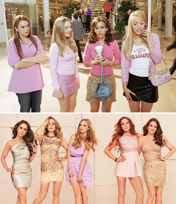 actrices de mean girls 2004 vs 2014