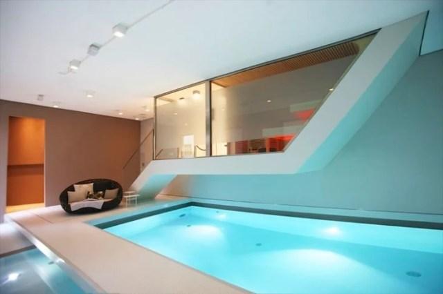 piscina en tu habitación