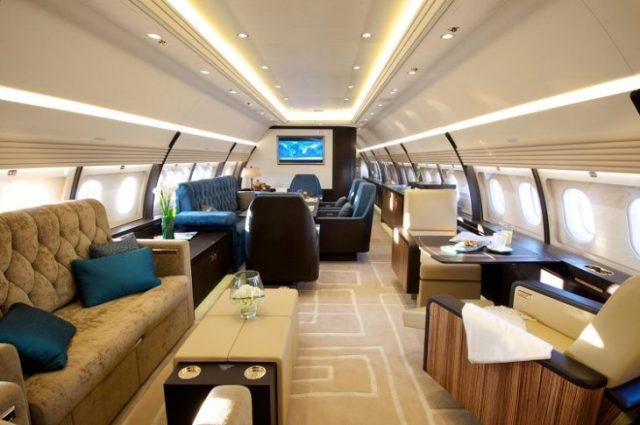 avión particular