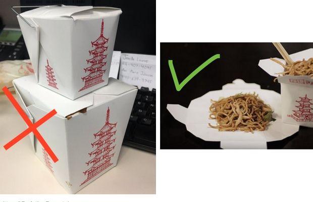 platito de comida china