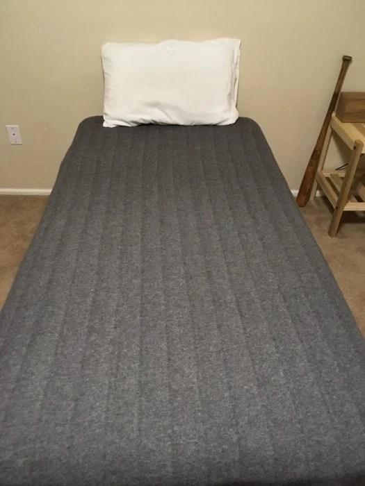 cama perfectametne tendida