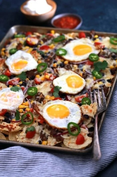 nachos veganos