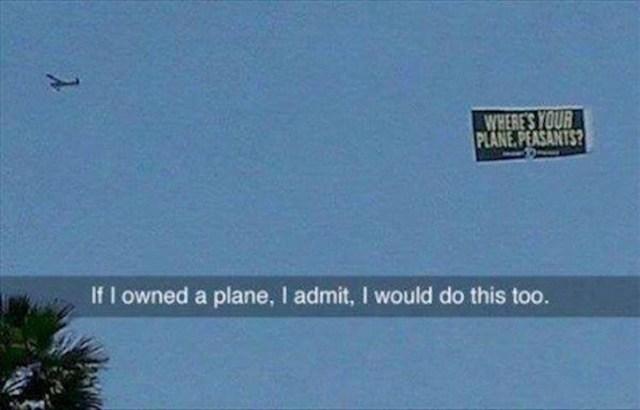 y su aeroplano campesinos?