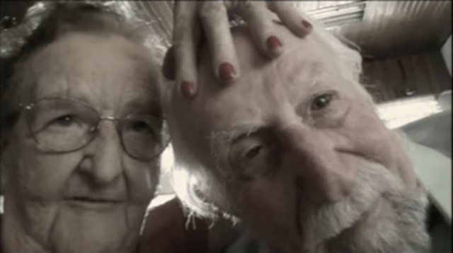 primera vez abuelos selfie