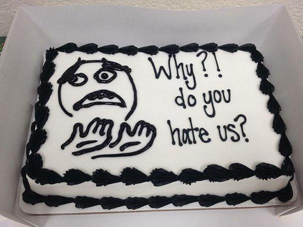 por cuán nos odias pastel