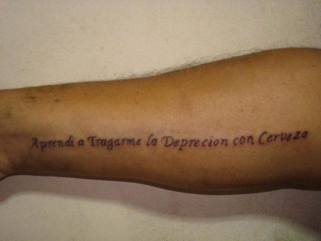 Fails tatuajes - depreción