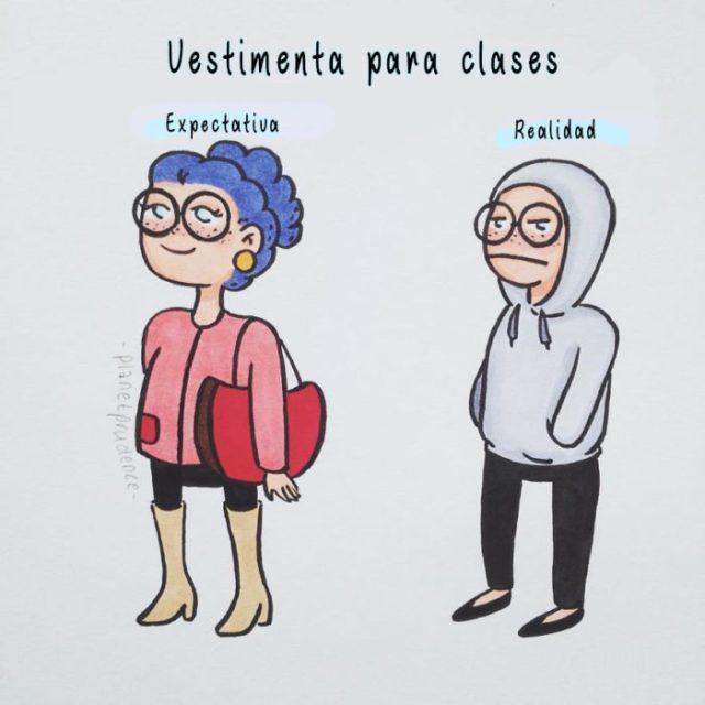 vestimenta para clases