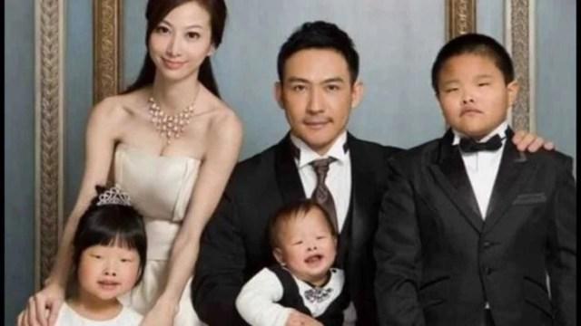 familia del chino que aparentemente reclamó a su esposa por poseer hijos feos