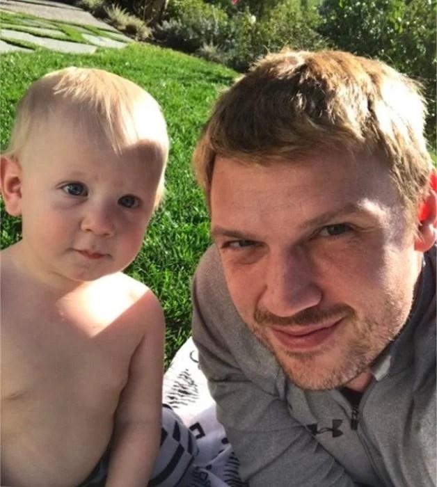 nick carter co su hijo