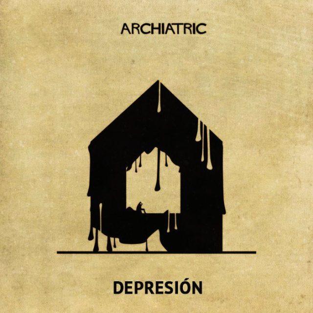 Archiatric casa depresión