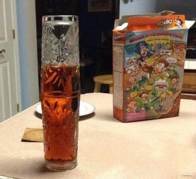 vasos con liquido