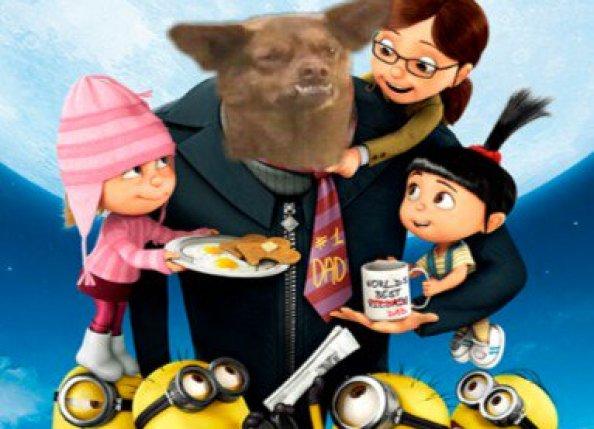 Poster de mi villano preferido con chilaquil