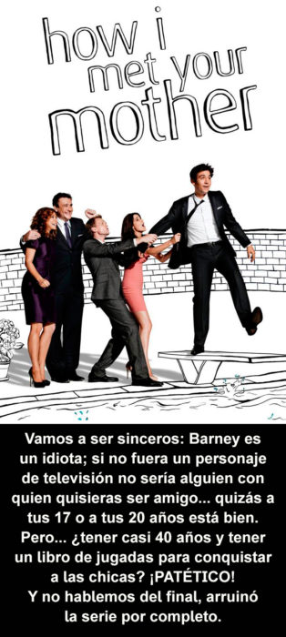 Crítica atroz How I Met Your Mother
