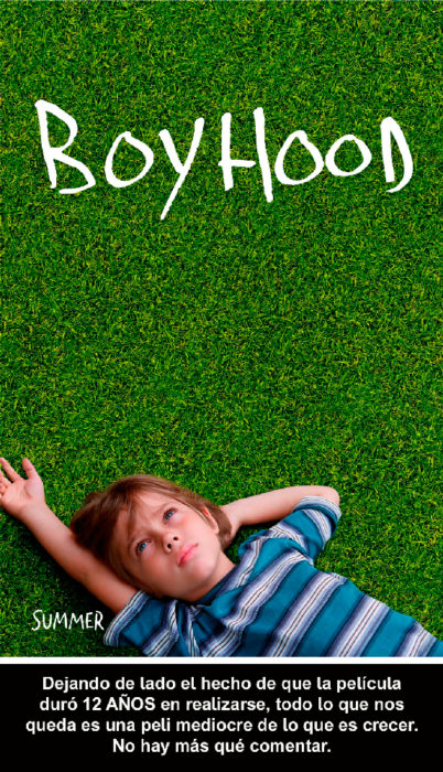 Crítica atroz Boyhood