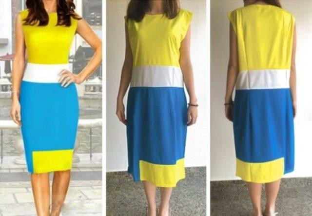 vestido colores minion
