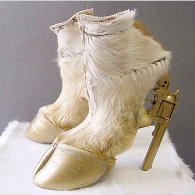 zapatos de cabra