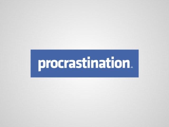 Logos sinceros - procrastination