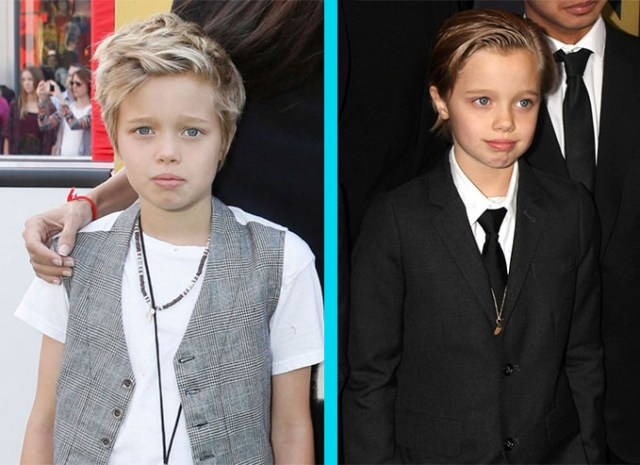 Shiloh hijo de Angelina