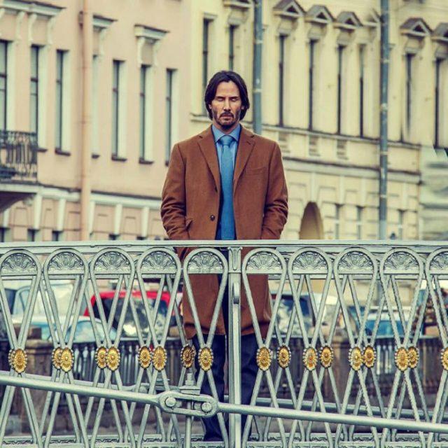 Keanu Reeves en Roma
