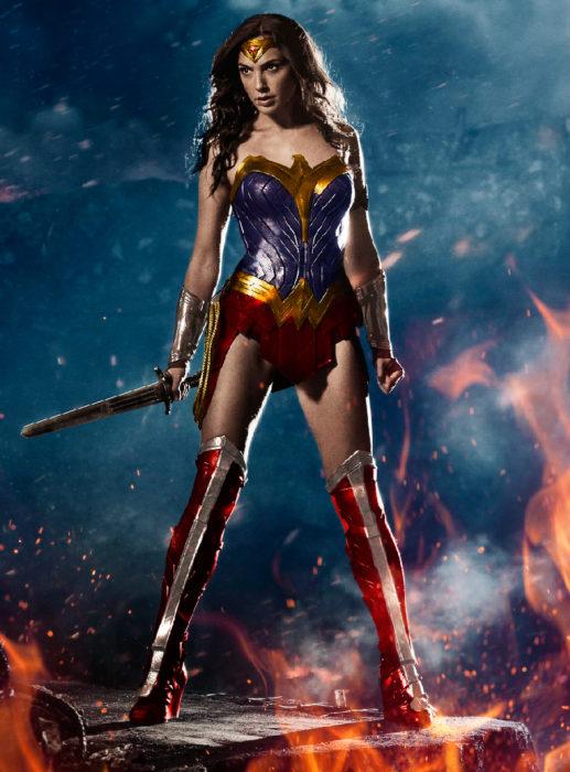 Gal Gadot poster Mujer Maravilla