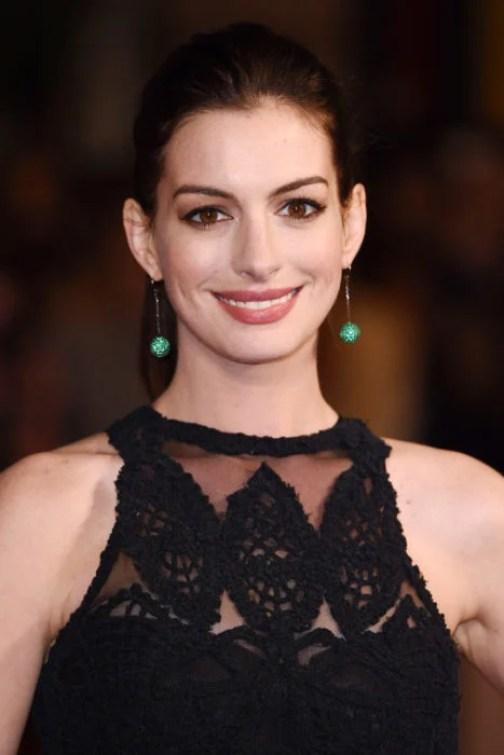 Anne Hathaway maquillaje