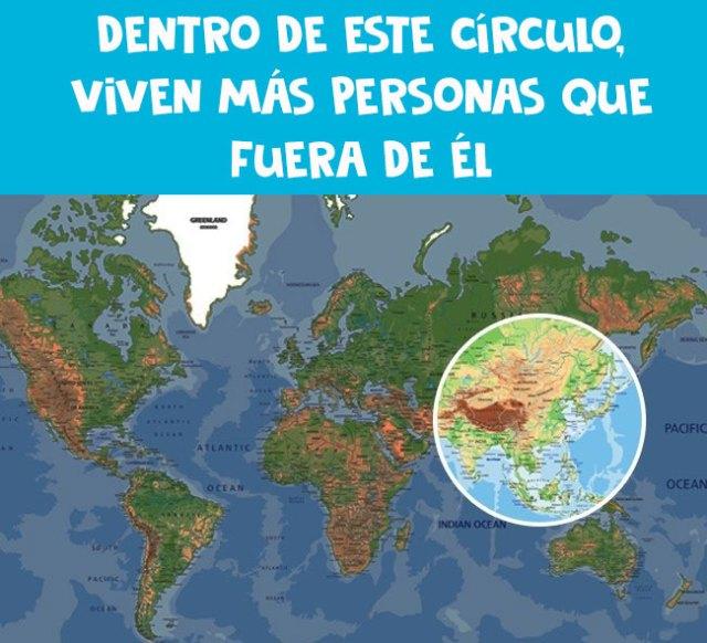 círculo mapa