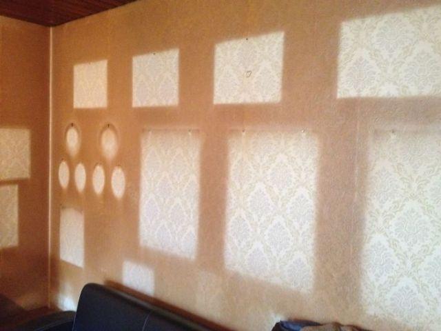 pared marcos desgaste