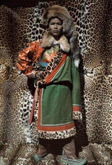 fotografía vieja de dirigente naxi